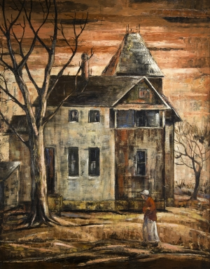 1940, WASP, Untitled (Old House)